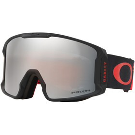 Oakley Line Miner Snow Goggles Herre shredbot red black/prizm snow black iridium